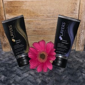 Two Brand new 3oz Scentsy Layers Hand Cream